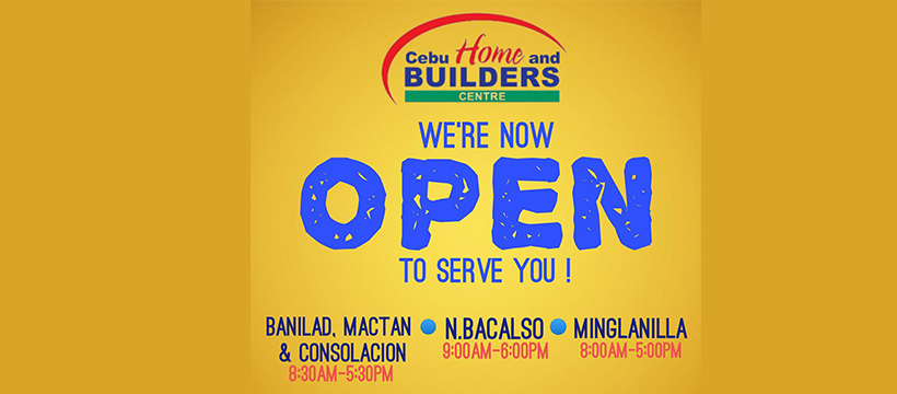 CHBC Open to serve